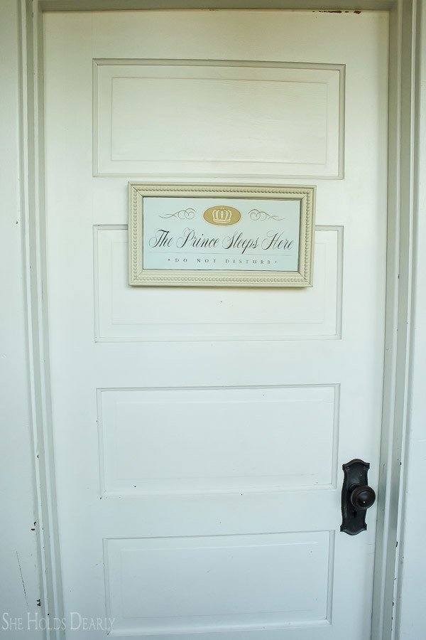 vintage door, farmhouse tour