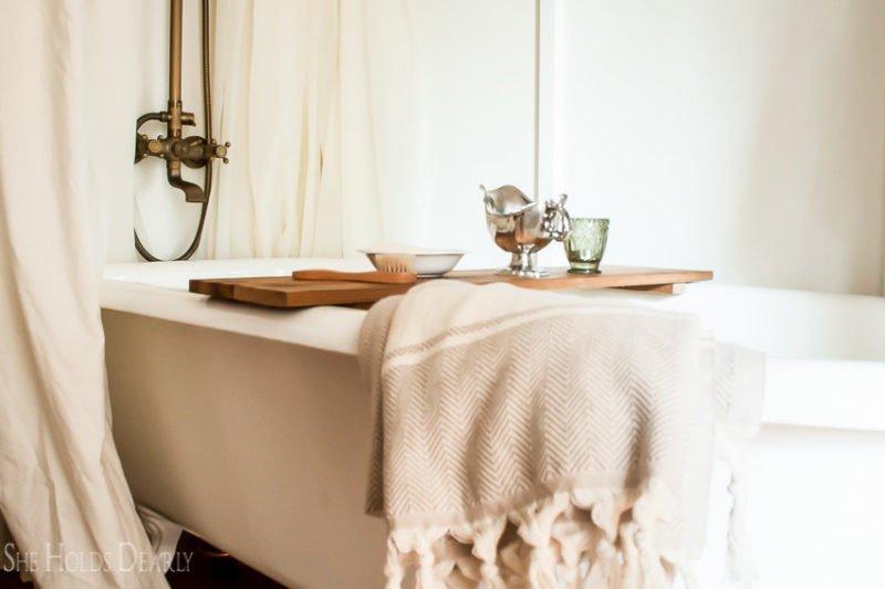 She Holds Dearly- Master Bathroom Renovation