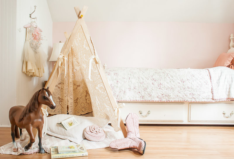 DIY Lace Tent & DIY Lace Tent - She Holds Dearly
