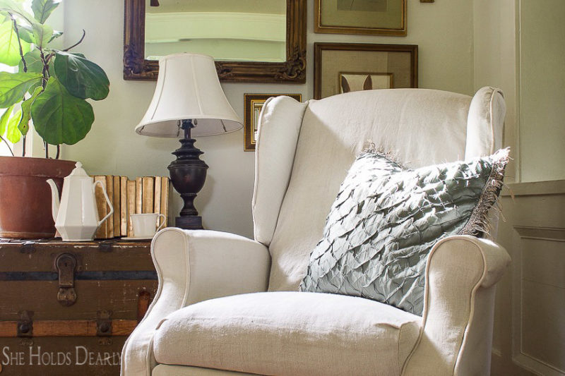 How to Slipcover a Recliner
