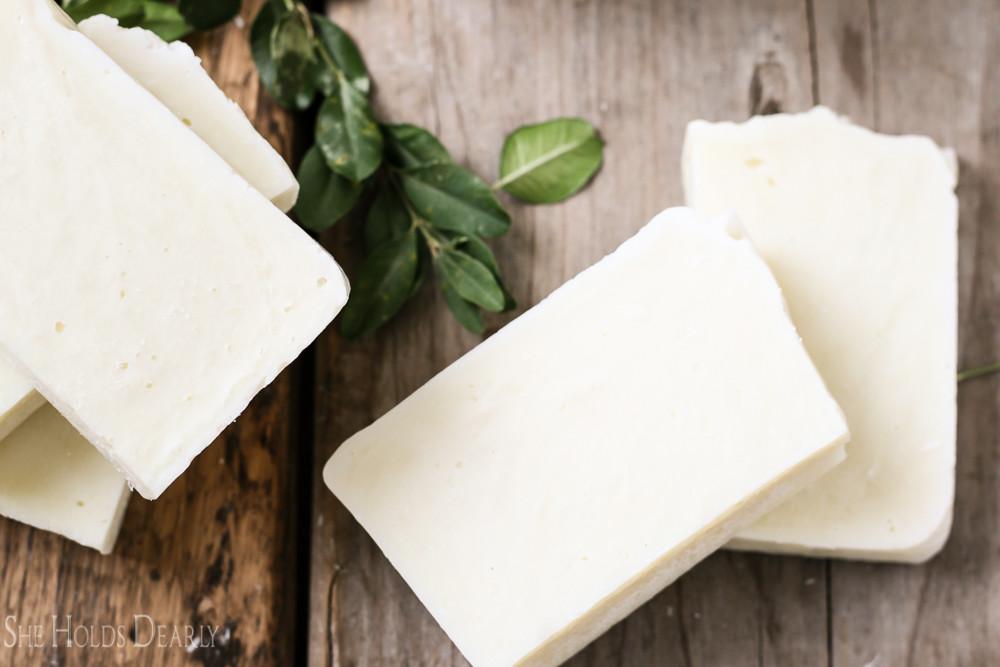 Homemade Soap for the Farmhouse