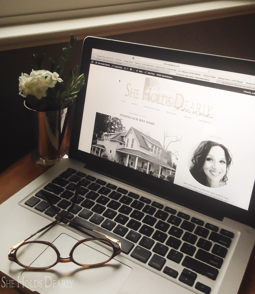 Favorite Farmhouse Blogs by She Holds Dearly