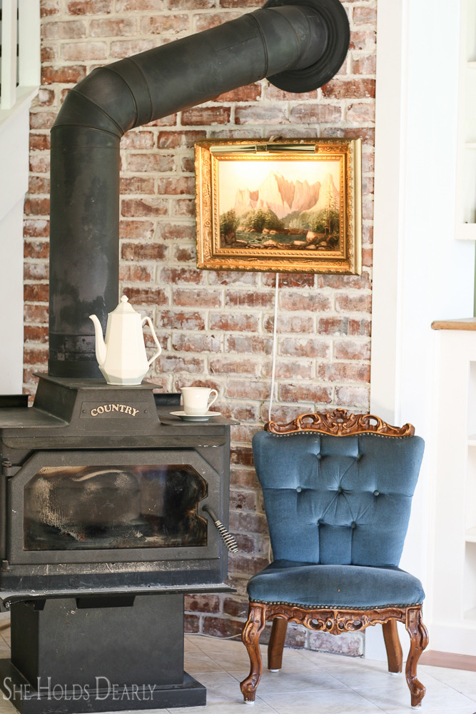 How to Install a Rustic Brick Accent Wall