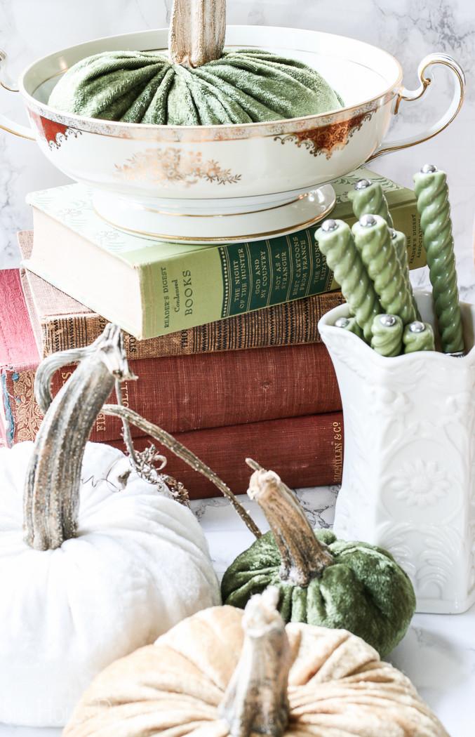 Stuffed fabric pumpkin tutorial