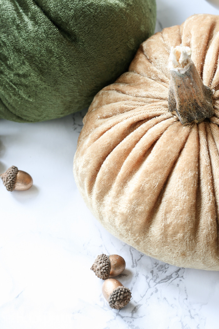 Stuffed fabric pumpkin tutorial