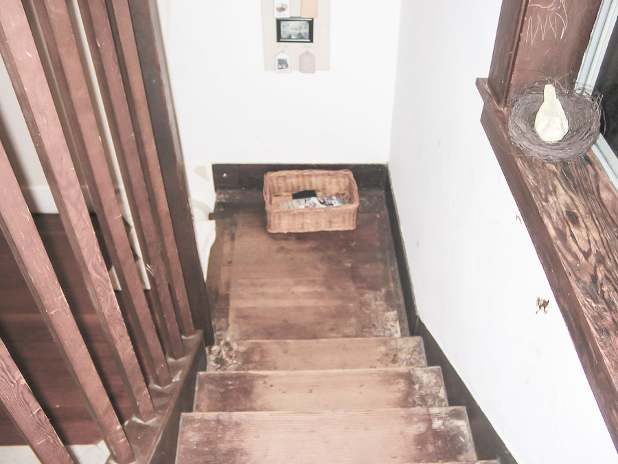 Before And After, From Carpet To Restored Wood Stairs