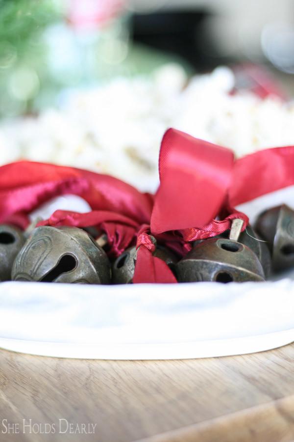 Holiday Home Decor. Home Tour, Blog Hop, White Kitchen, Farmhouse Christmas