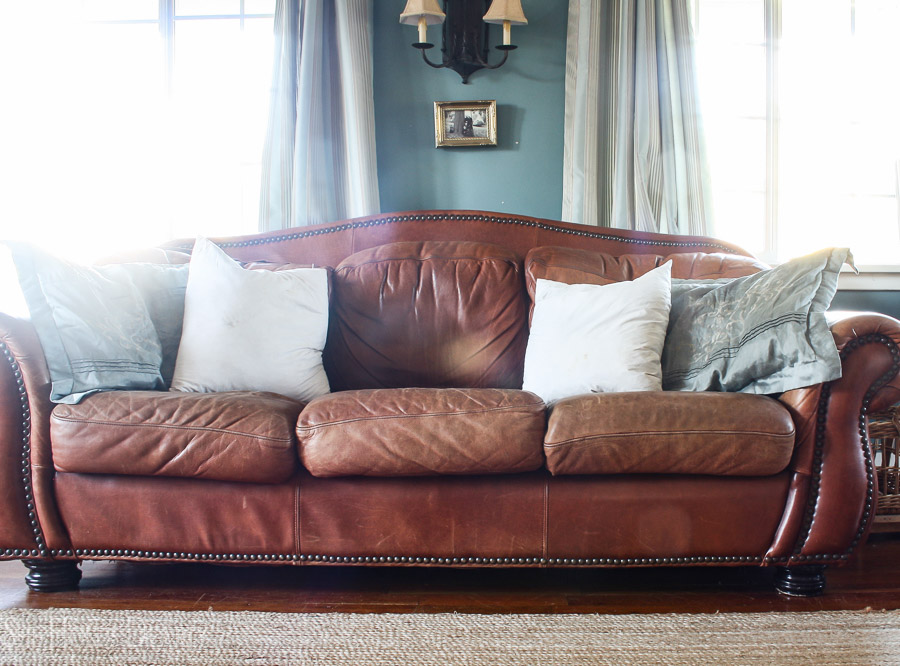 How To Repaint A Leather Couch