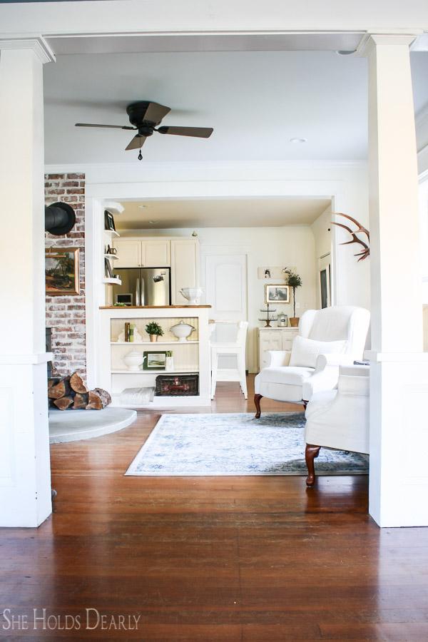Farmhouse living room, mood board, inspiration