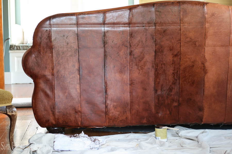 Superieur How To Paint Leather Furniture, Dye Leather, Chair, Couch