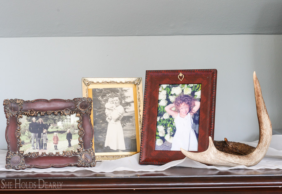 farmhouse style decor from the dollar store, dollar tree