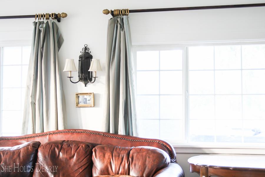 Easy Curtain Panel Tutorial