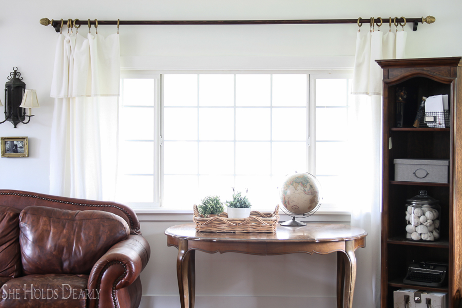 Easy Curtain Panel Tutorial