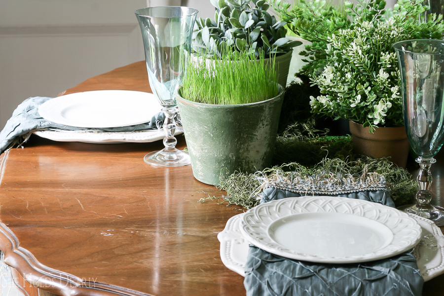 Dinner Party Decor Plan, Table Settings and Centerpieces