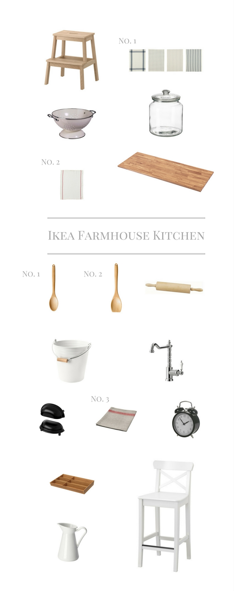 IKEA finds for the Farmhouse, Affordable Decor