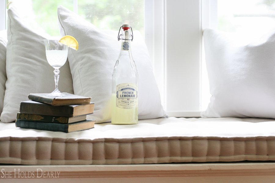 DIY French Mattress Cushion by She Holds Dearly