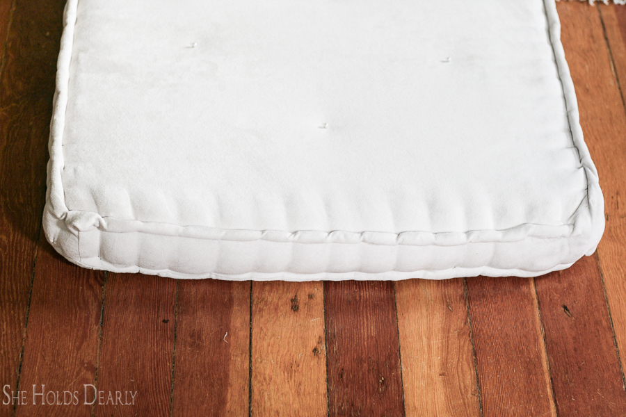 French Mattress Sewing Project by She Holds Dearly