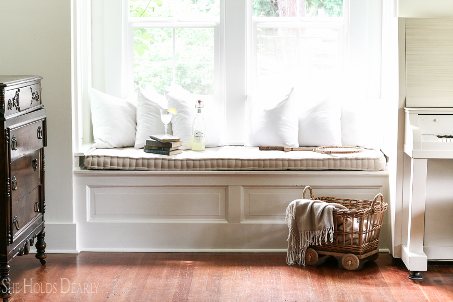 French Mattress Cushion Tutorial