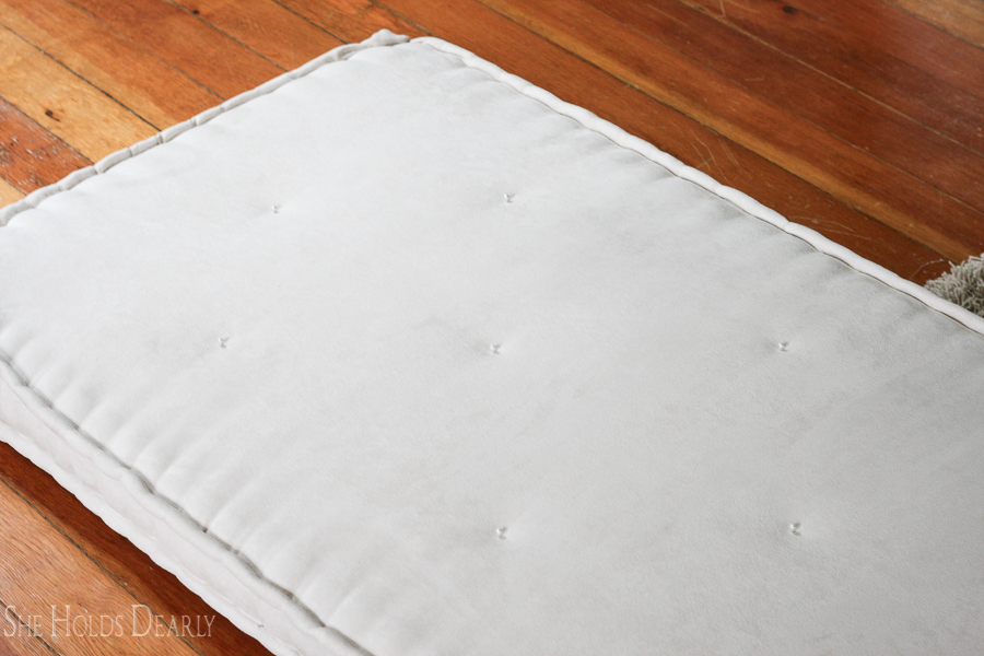Tufted French Mattress by She Holds Dearly