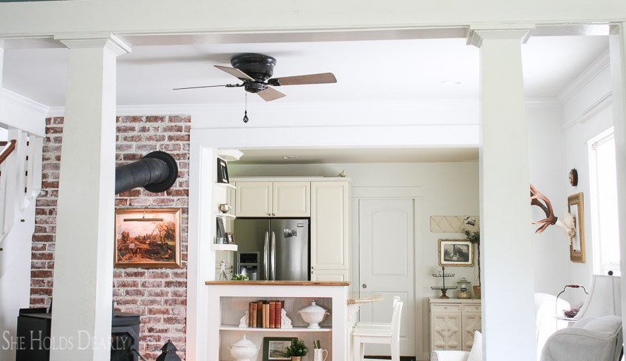 Farmhouse Ceiling Fan by She Holds Dearly