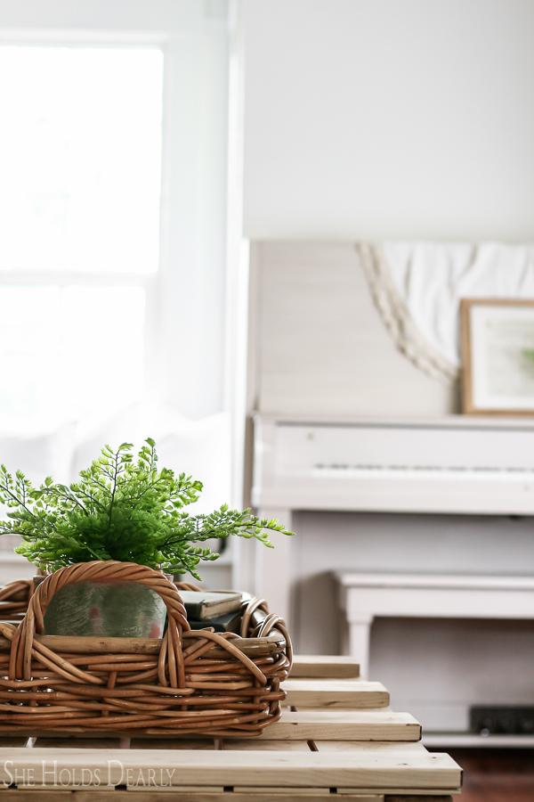 Farmhouse Living Room Ideas by sheholdsdearly.com