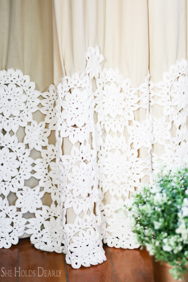 Victorian Lace Curtains by sheholdsdearly.com