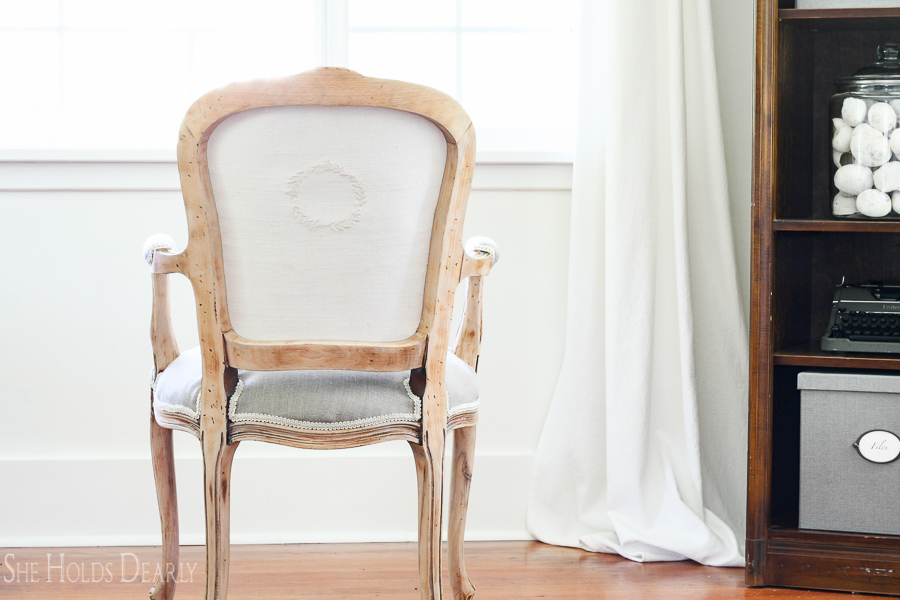 French Accent Chair by sheholddearly.com