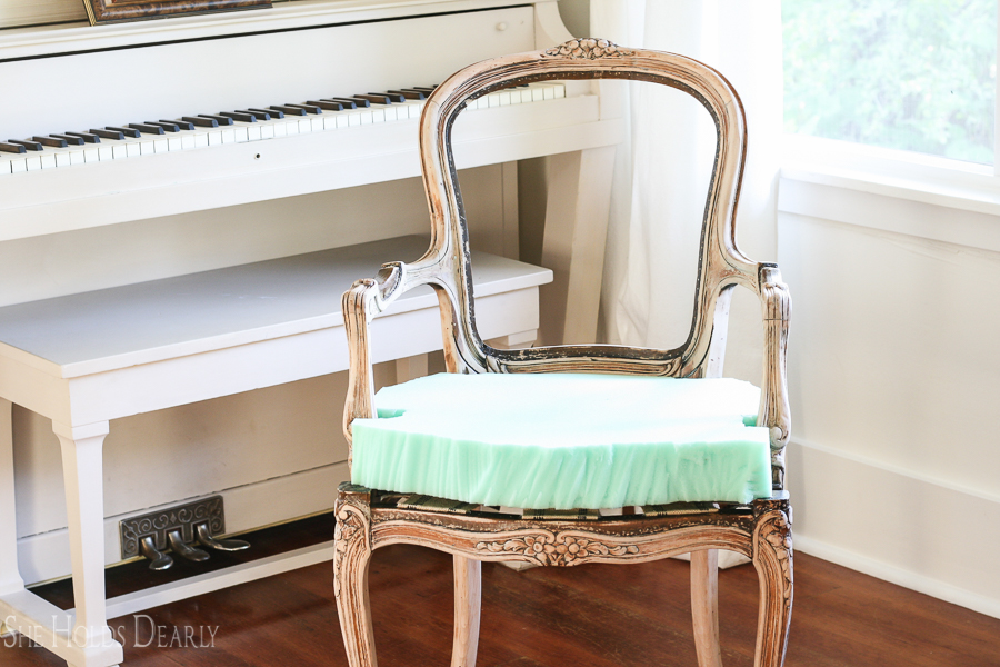 King Louis Chair by sheholddearly.com