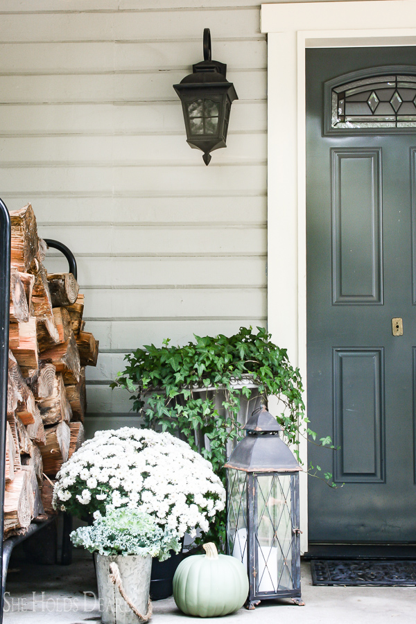 Porch Decor farmhouse porch decor ideas - she holds dearly