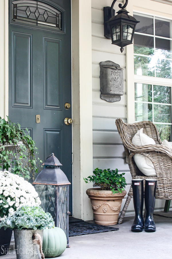 Farmhouse Porch Decor By Sheholdsdearly