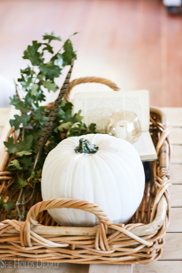 Harvest Decorating Ideas by sheholdsdearly.com