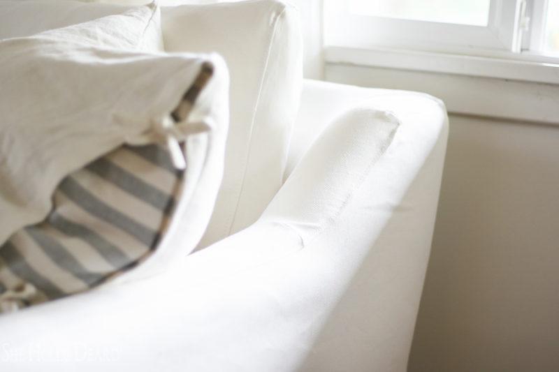 Online Custom Slipcovers by sheholdsdearly.com