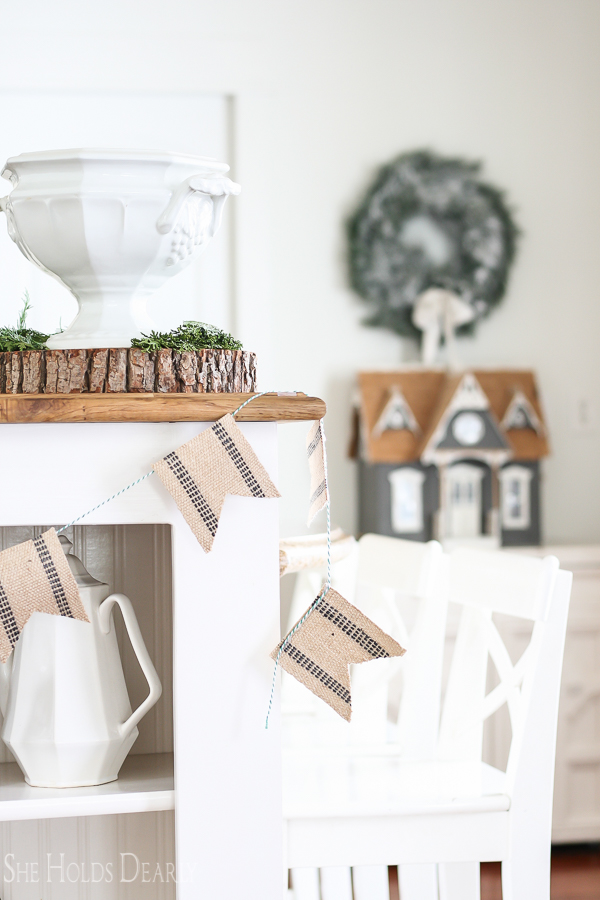 Farmhouse Holiday Decor by sheholdsdearly.com