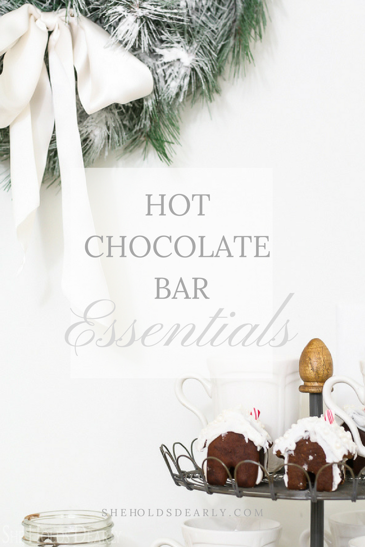 Hot Chocolate Bar Ideas by sheholdsdearly.com