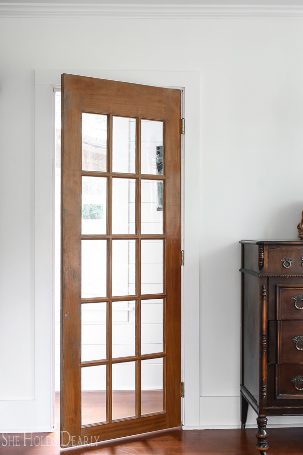 Closet French Door by sheholdsdearly.com