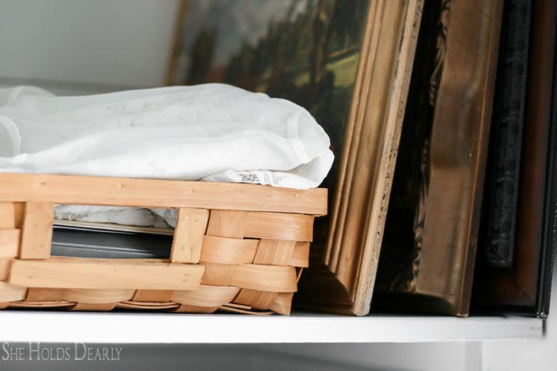 Cottage Style Organization by sheholdsdearly.com