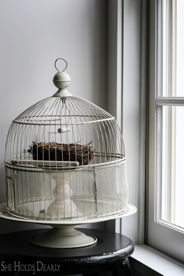 Farmhouse Home Tour, Birdcage by sheholdsdearly.com