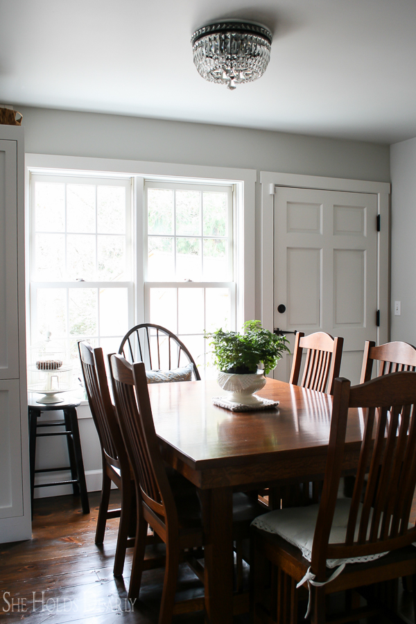 Historic Home Tour, Dining Room by sheholdsdearly.com