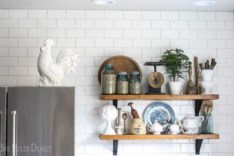 Historic Home Tour Kitchen by sheholdsdearly.com