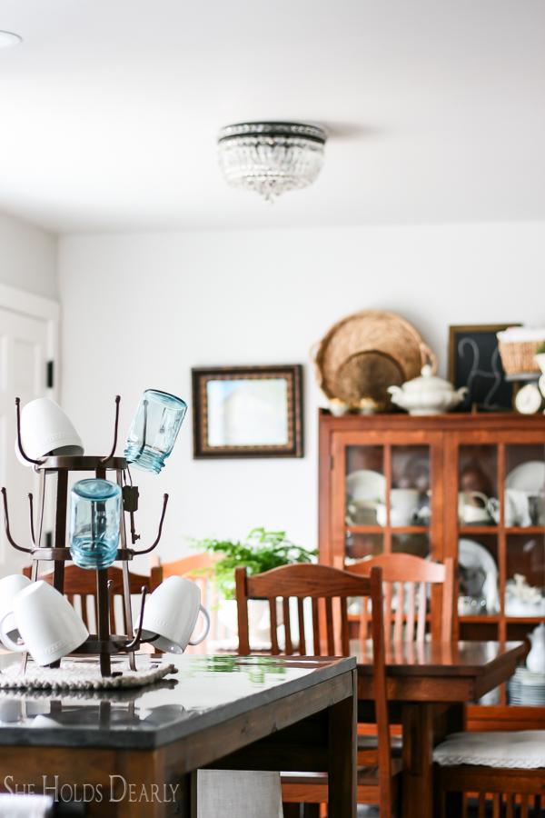 Modern Farmhouse Dining Room by sheholdsdearly.com