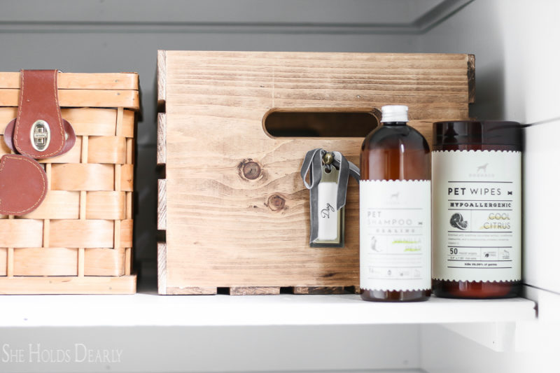 Rustic Storage Solutions by sheholdsdearly.com