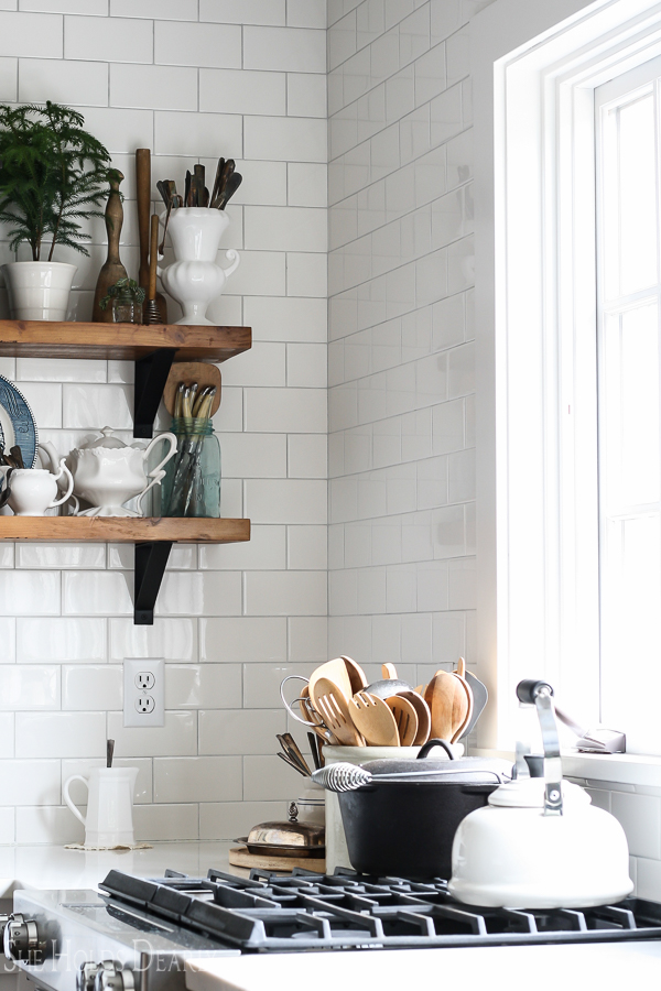Vintage Home Tour, Kitchen by sheholdsdearly.com