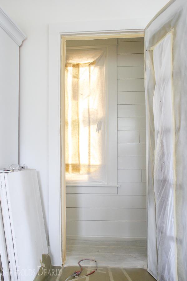 Walk-in Closet Remodel by sheholdsdearly.com