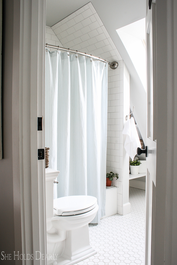 Cottage Decor Ideas Bathroom by sheholdsdearly.com