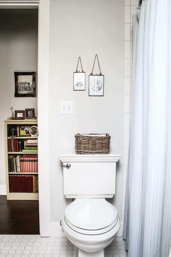 Cottage Style Bathroom by sheholdsdearly.com
