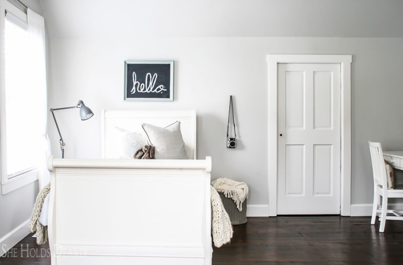 Cottage Styel Decorating Ideas Girls Room by sheholdsdearly.com