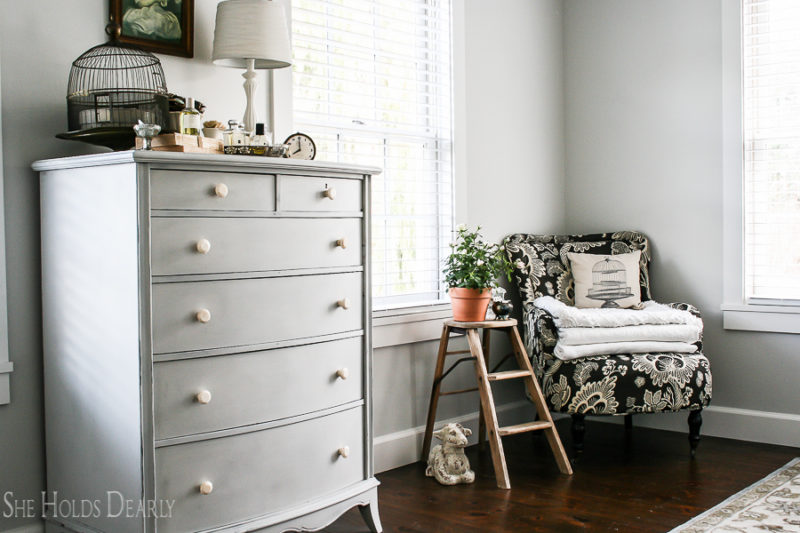Cottage Style Master Bedroom by sheholdsdearly.com