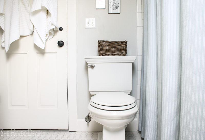 Historic Home Bathroom by sheholdsdearly.com