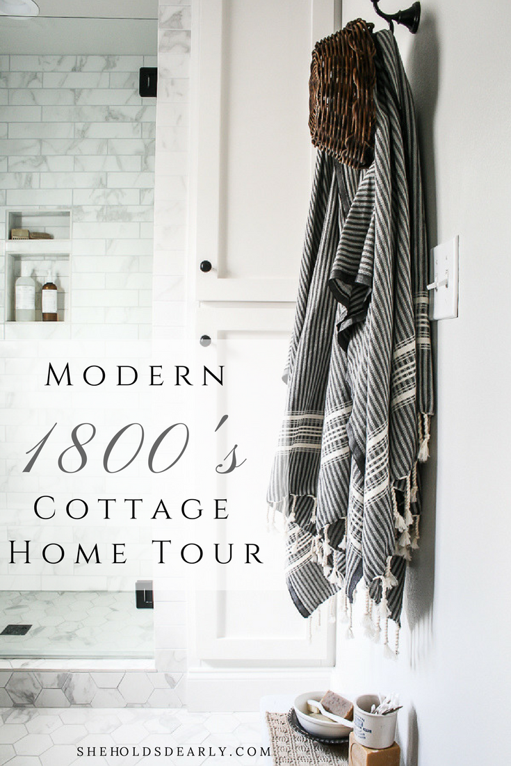 Modern Cottage Home Tour by sheholdsdearly.com