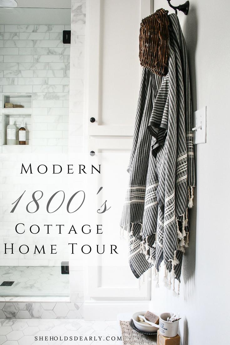 Modern Cottage Home Tour by sheholdsdearly.com